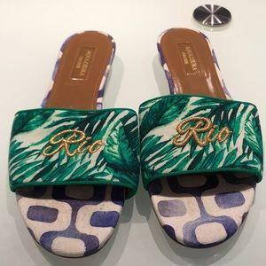 Aquazzura sandals %100 authentic